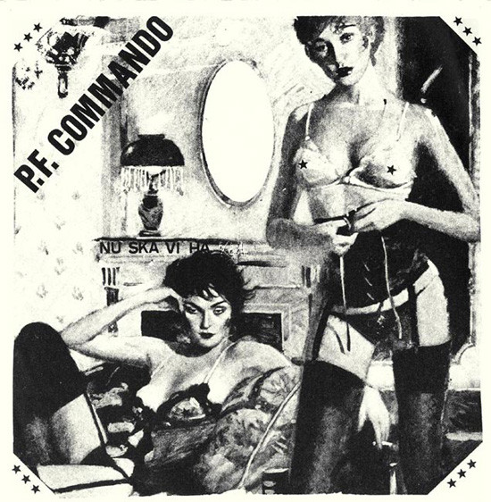 PF COMMANDO – ROUGH SOUND 7″ EP