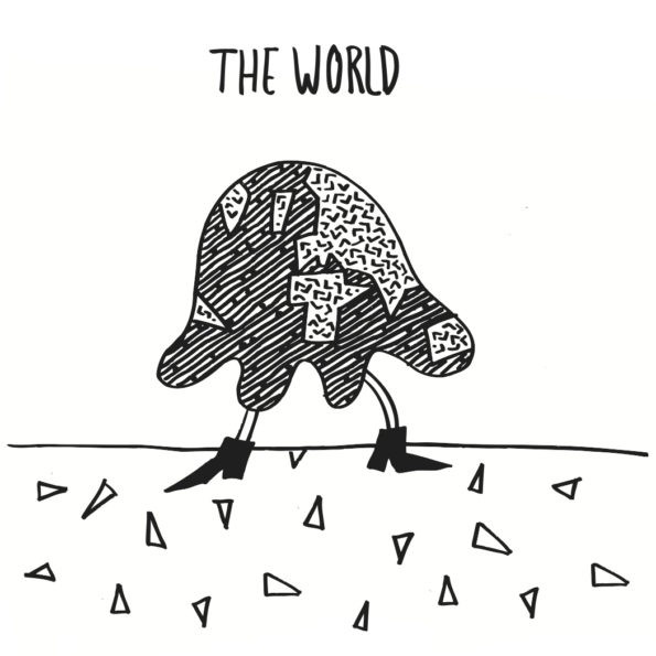 THE WORLD – MANAGERIAL MATERIAL 7″ EP