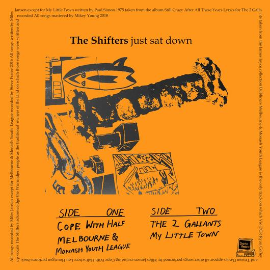 THE SHIFTERS – JUST SAT DOWN 7″ EP