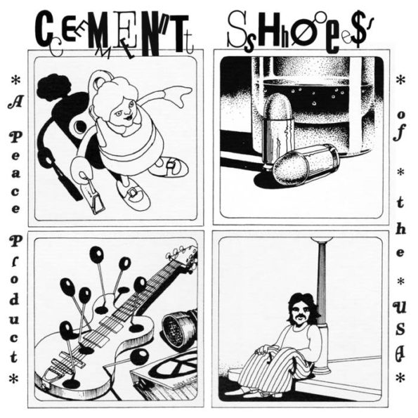 CEMENT SHOES – A PEACE PRODUCT OF THE USA 7″ EP