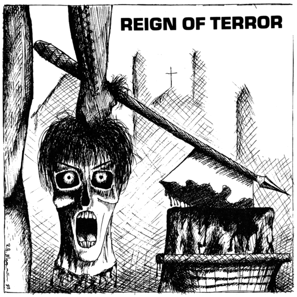 REIGN OF TERROR – DON'T BLAME ME 7″ EP
