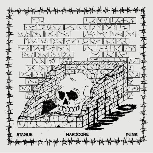 MURO – ATAQUE HARDCORE PUNK 12″ EP