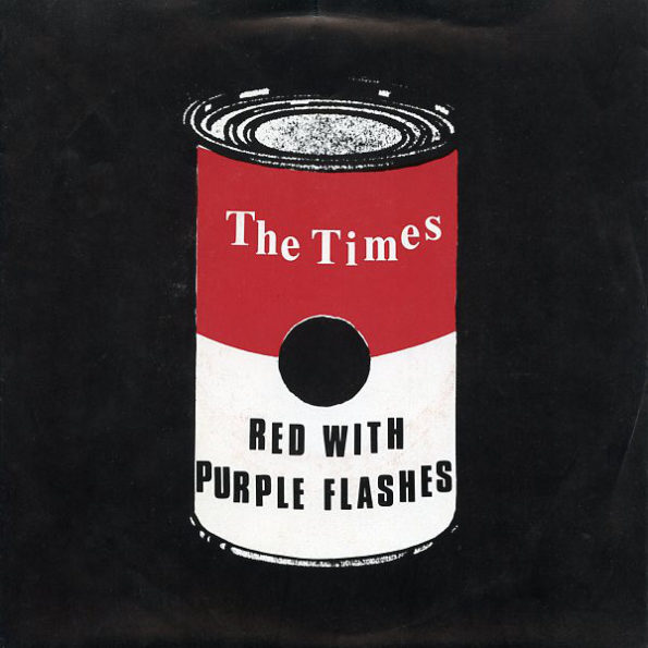THE TIMES – PURPLE WITH RED FLASHES 7″ EP