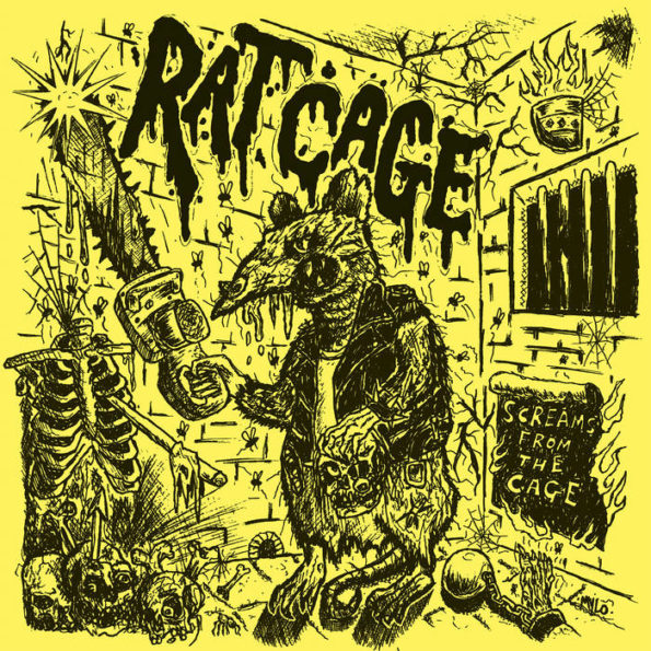 RAT CAGE – SCREAMS FROM THE CAGE LP