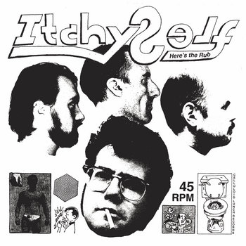 ITCHY SELF – HERE'S THE RUB LP