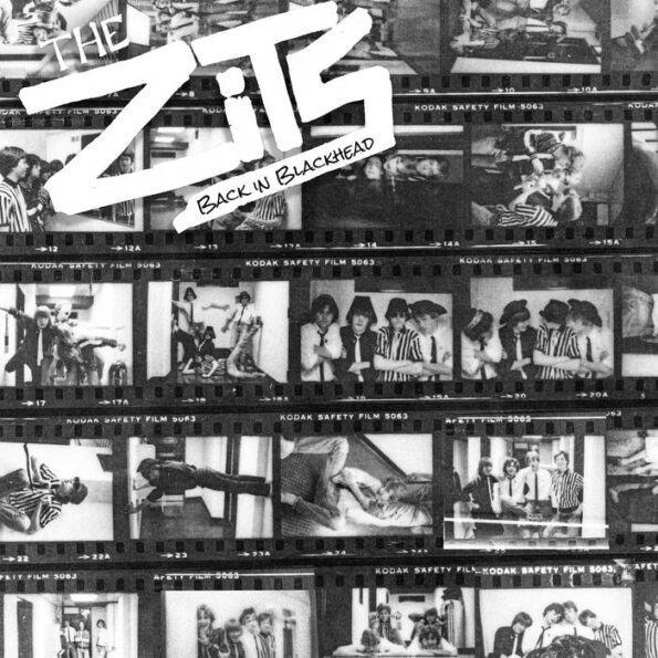 THE ZITS – BACK IN BLACKHEAD LP (RE-ISSUE)